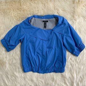 NWOT! Axcess Half Sleeve Jacket, Blue, Size Medium